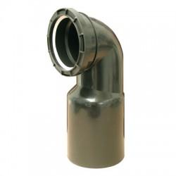 Rawiplast Kolano przyłączeniowe do WC 110x90/90 do stelaża, spłuczki podtynkowej