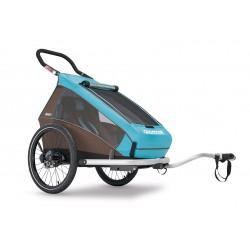 Wypożyczenie od 25zł/dzień Croozer Kid Plus for 1 przyczepka rowerowa