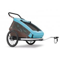 Wypożyczenie od28zł/dzień Croozer Kid Plus for 2 przyczepka rowerowa