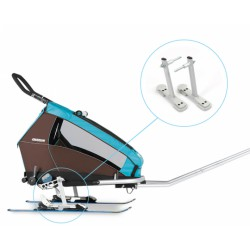 Croozer Ski Adapter Kit Snap & Ski