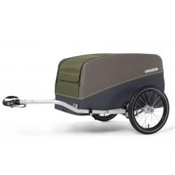Croozer Cargo Tuure Olive green przyczepka rowerowa