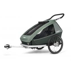 Croozer Kid Vaaya 2 Jungle green przyczepka rowerowa
